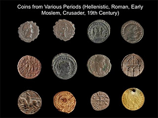 coins from various periods